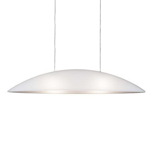 Formadri hanglamp Oval - wit