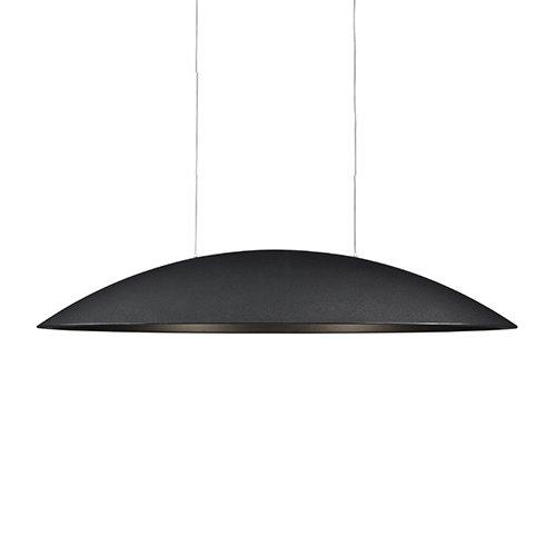 Formadri hanglamp Oval - zwart