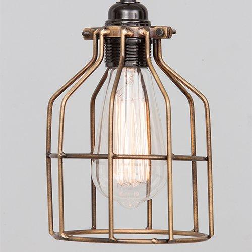 Lichtlab hanglamp No.15 kooi brons - detail 1