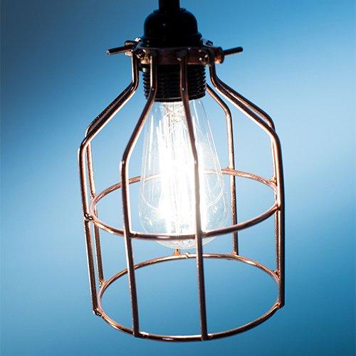 Lichtlab hanglamp No.15 kooi brons - detail 2