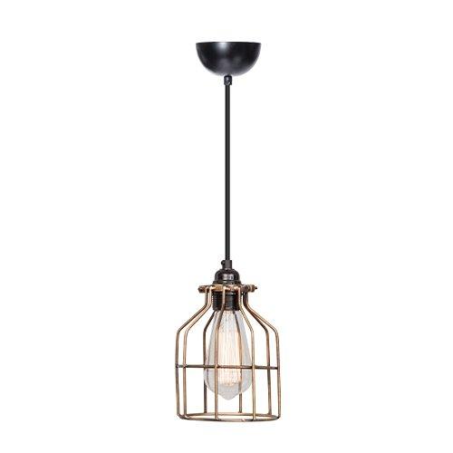 Lichtlab hanglamp No.15 kooi brons