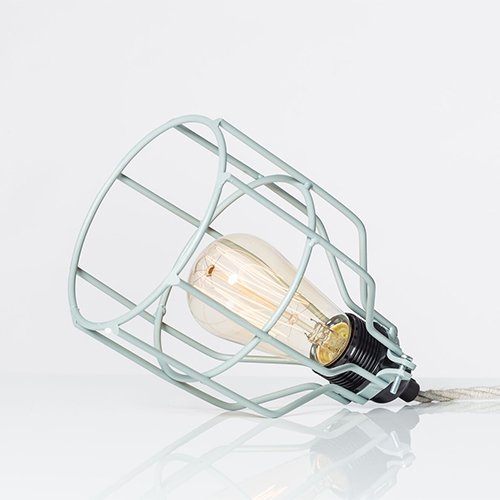 Lichtlab hanglamp No.15 kooi grijs-groen - detail 1