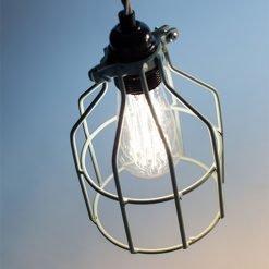 Lichtlab hanglamp No.15 kooi grijs-groen - detail 2