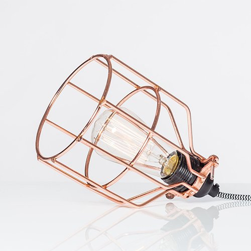 Lichtlab hanglamp No.15 kooi koper - detail 1