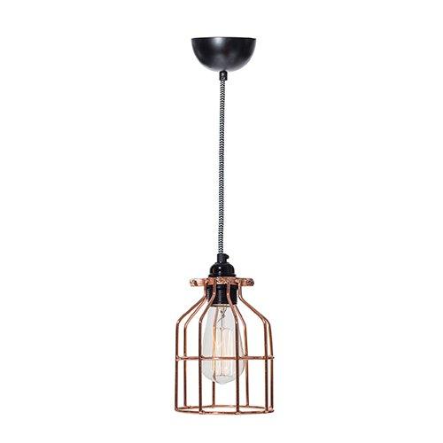 Lichtlab hanglamp No.15 kooi koper