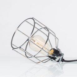Lichtlab hanglamp No.15 kooi zilver - detail 1