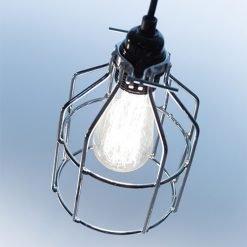 Lichtlab hanglamp No.15 kooi zilver - detail 2