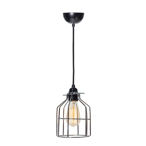 Lichtlab hanglamp No.15 kooi zilver