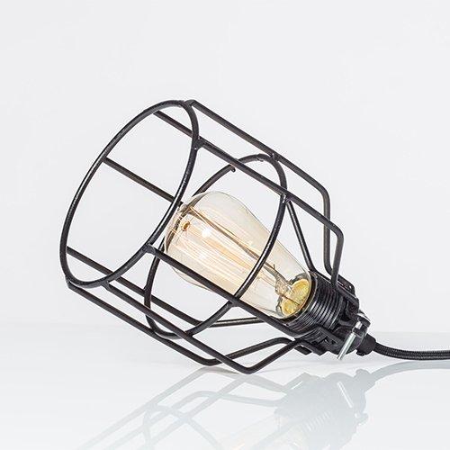 Lichtlab hanglamp No.15 kooi zwart - detail 1