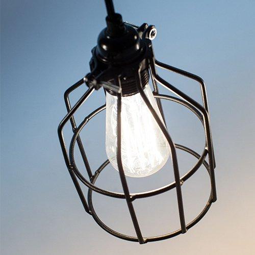 Lichtlab hanglamp No.15 kooi zwart - detail 2