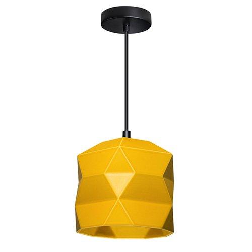 Lichtlab hanglamp No.45 Trigami - geel
