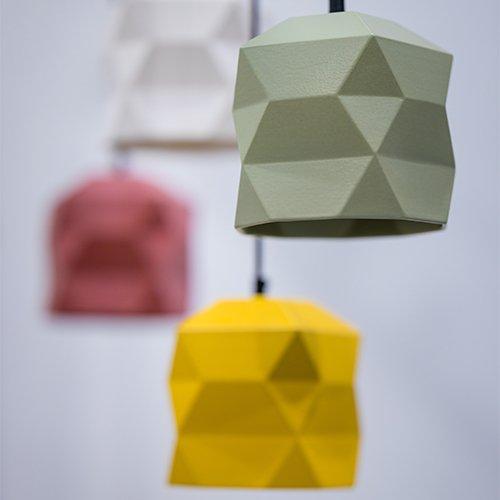 Lichtlab hanglamp No.45 Trigami - set voor