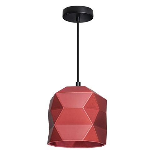 Lichtlab hanglamp No.45 Trigami - wijnrood