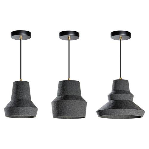 Lichtlab hanlamp No.44 Zandi 01 02 03