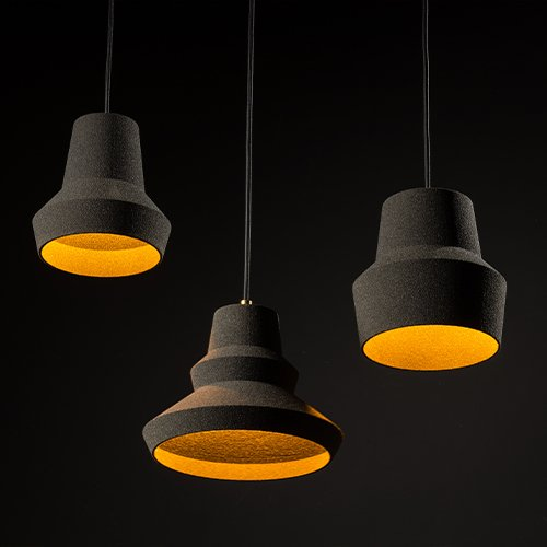 Lichtlab hanlamp No.44 Zandi - set