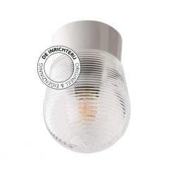 De Inrichterij plafonnière bakeliet Bijenkorf - helder wit