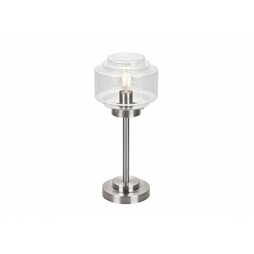 De Inrichterij tafellamp Trapkap helder