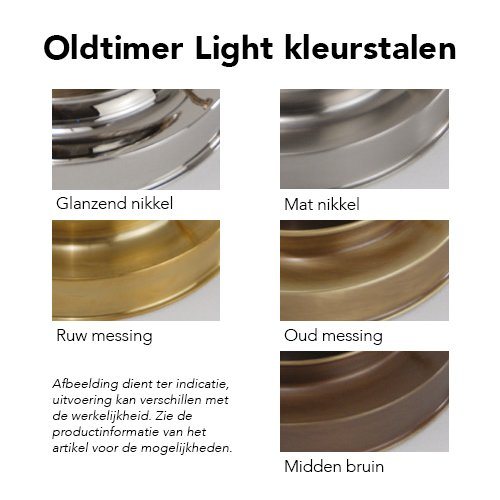 Oldtimer Light kleurstalen
