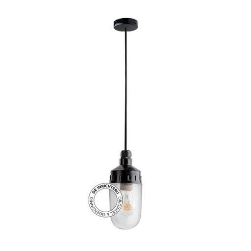 De Inrichterij hanglamp bakeliet Cilinder medium - helder