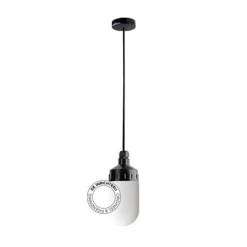 De Inrichterij hanglamp bakeliet Cilinder medium - opaal