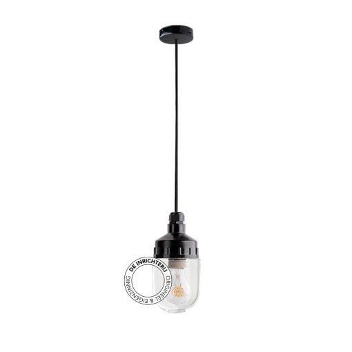 De Inrichterij hanglamp bakeliet Cilinder small - helder