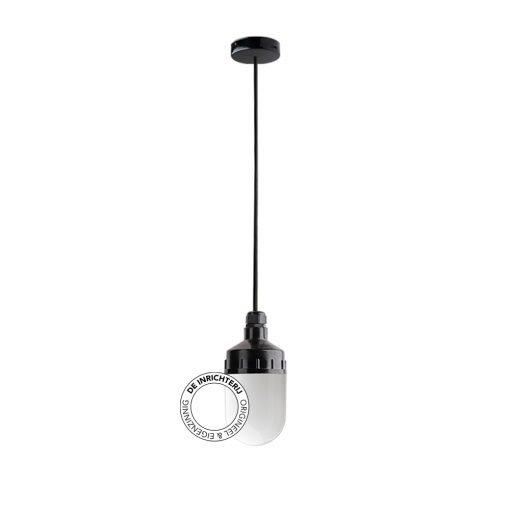 De Inrichterij hanglamp bakeliet Cilinder small - opaal