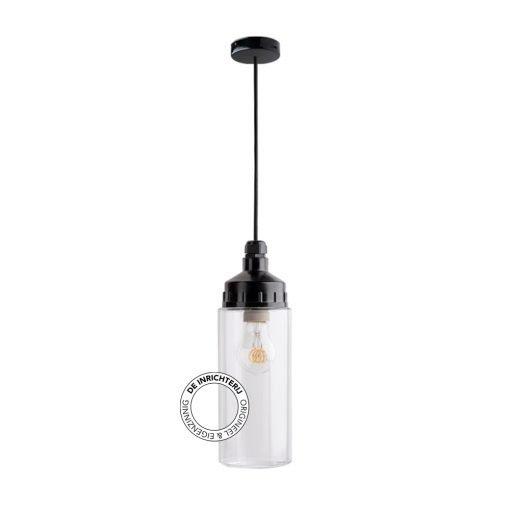 De Inrichterij hanglamp bakeliet Cilinder strak - helder