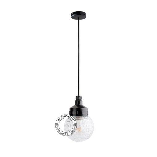 De Inrichterij hanglamp bakeliet Deco Bol - helder