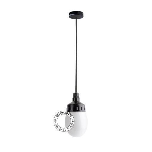 De Inrichterij hanglamp bakeliet Druppel - opaal