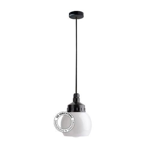 De Inrichterij hanglamp bakeliet Knop - opaal