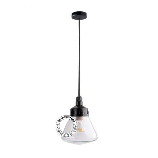 De Inrichterij hanglamp bakeliet Schoollamp - helder
