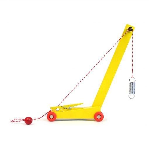 Ikonic Toys Yellow Crane Floris Hovers