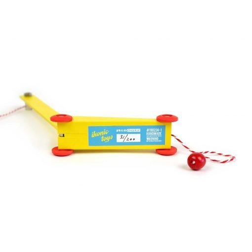 Ikonic Toys Yellow Crane Floris Hovers - nummering