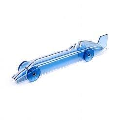 Lucite Car Large No2 - light blue 2