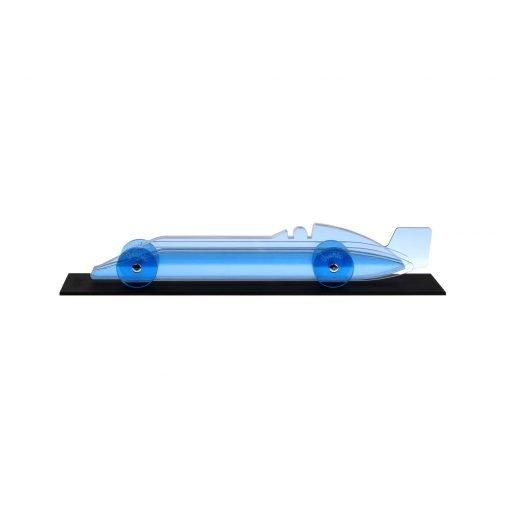 Lucite Car Large No2 - light blue platform