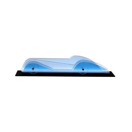 Lucite Car Large No3 - light blue platform
