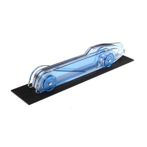 Lucite Car Large No4 - light blue platform 2