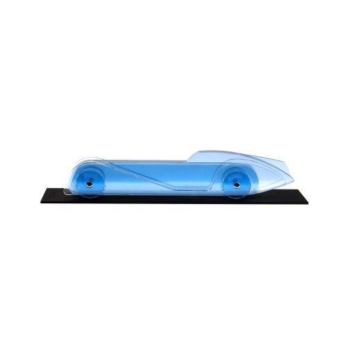 Lucite Car Large No4 - light blue platform