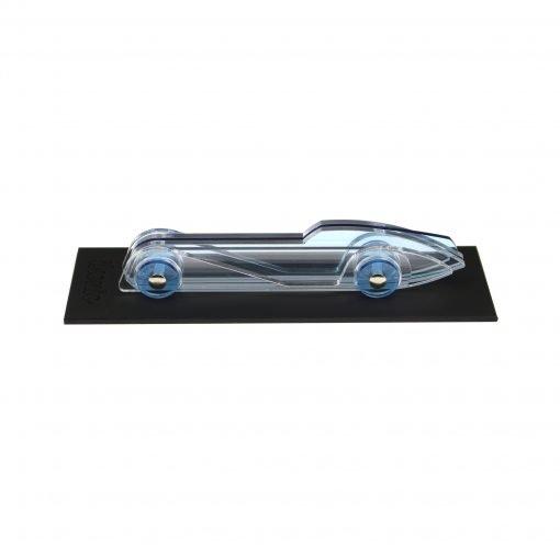 Lucite Car Small No4 - light blue platform